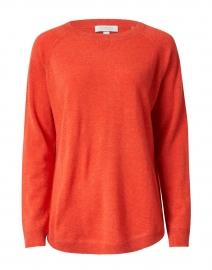 Valencia Orange Cashmere Sweatshirt