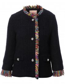 Paula Navy Tweed Jacket