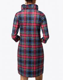 Gretchen Scott - Black Tartan Ruffle Neck Dress