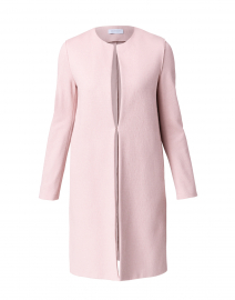 Rose Pink Canvas Coat