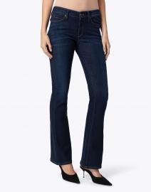 Cambio - Parla Dark Blue Stretch Cotton Flared Jean