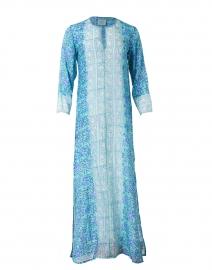 Jane Purple and Mint Print Tunic Dress