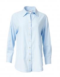 Finley - Misty Blue Cotton Shirt