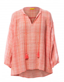 Shelter Island Adlaz Coral Cotton Top