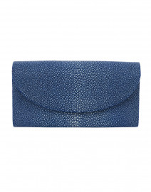 Baby Grande Royal Blue Stingray Clutch