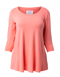 Orange Bamboo Cotton Tunic