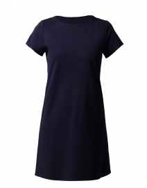 Ella Navy Ponte Dress