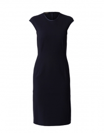 Navy Stretch Milano Dress