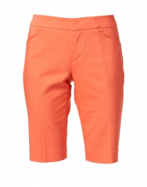 Heather Coral Premier Stretch Cotton Shorts