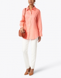 Finley - Rose Pink Cotton Shirt