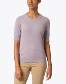 Repeat Cashmere - Lavender Knit Cashmere Top