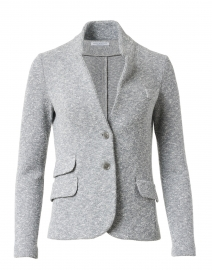 Frances Grey and White Micro Boucle Jacket