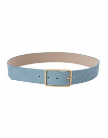 Milla Sky Blue Leather Belt