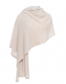 Ecru Cashmere Travel Wrap