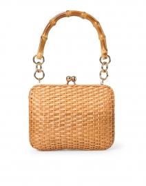 Giulia Light Honey Wicker Top Handle Bag