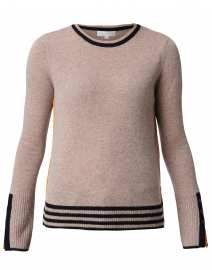 Up Your Sleeve Hazelnut Cashmere Sweater