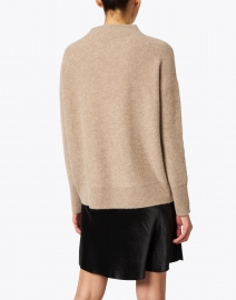 Vince - Heather Wheat Boiled Cashmere Sweater