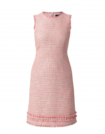 Pink Tweed Cotton Dress