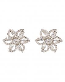 Cece Crystal Flower Stud Earring