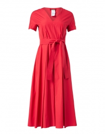 Agre Red Cotton Dress