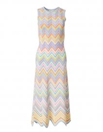 Leia Multicolored Chevron Knit Dress