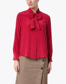 Tara Jarmon - Titto Passion Pink Silk Blouse