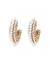 Fiona Pearl Mini Hoop Earrings