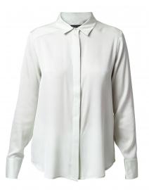 Jade Stretch Silk Button Down Shirt