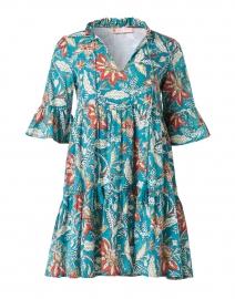 Maria Jade Floral Cotton Voile Dress