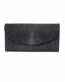 Baby Grande Black Stingray Clutch