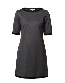Louisa Charcoal Ponte Dress