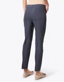 Lafayette 148 New York - Gramercy Blue Stretch Pintuck Pant