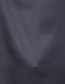 Peserico - Navy Stretch Silk Blouse