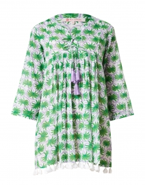 Seychelles Green Gwen Print Cotton Tunic