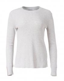 Grey Cotton Cashmere Sweater