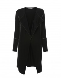 Rainsi Black Jersey Jacket