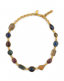 Zaria Golden Gem Single Strand Choker