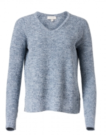 Cove Blue Cotton Sweater