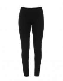 Black Gabardine Classic Stretch Legging