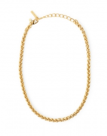 Paxton Braided Gold Necklace