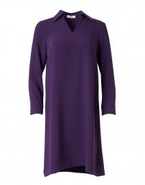 Galop Violet Crepe Dress