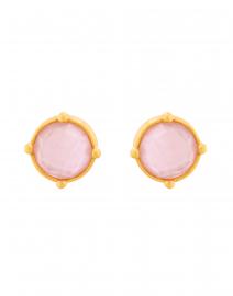 Honey Rose Pink Crystal Stud Earring