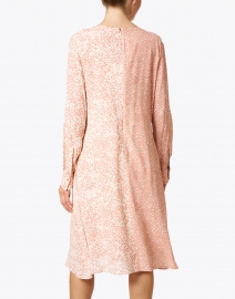 Marc Cain - Pink and Cream Leopard Printed Dress