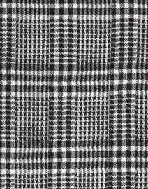 Seventy - Black and White Plaid Knit Jacket