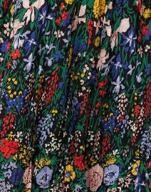 Banjanan - Bazaar Black Floral Cotton Voile Maxi Dress