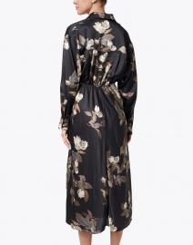 Vince - Black Antique Floral Shirt Dress