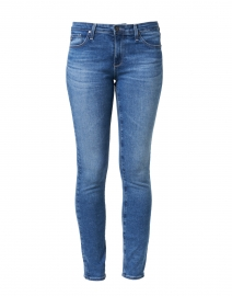 Prima Blue Denim Cigarette Leg Jean