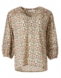 Lydia Rose Hampton Print Cotton Top