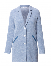 Centum Blue and White Cotton Jacket