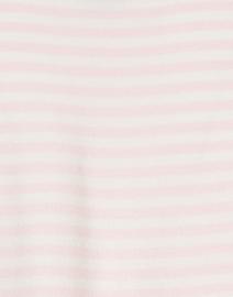 J'Envie - Light Pink and White Striped Knit Tank